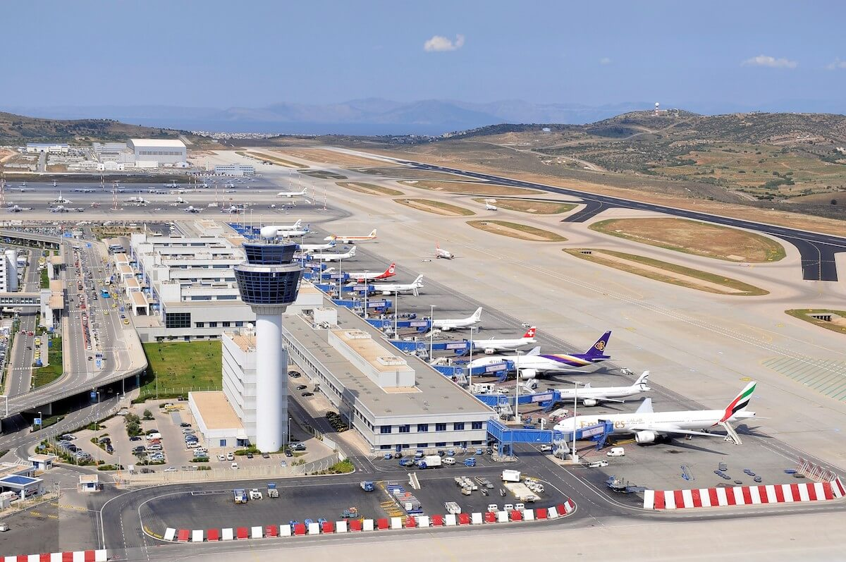 BRIDGES partners: Athens International Airport - aerial photo