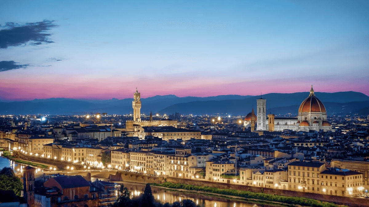 BRIDGES partners: Fondazione Sistema Toscana: a night view of Florence