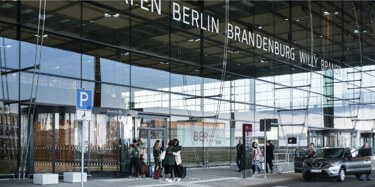 BRIDGES partners: Berlin Brandeburg Airport - main entrance