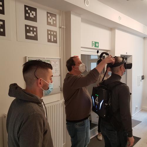 Firefighters workshop - preliminary activities Pilot 1 in Berlin