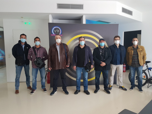 Firefighters workshop - preliminary activities Pilot 1 in Athens: Bolt Virtual meet firefighters brigade of Athen International Airport